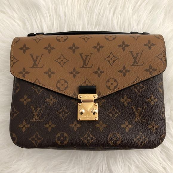 5ddf4ff72f09 BNIB Louis Vuitton Pochette Metis Reverse Monogram